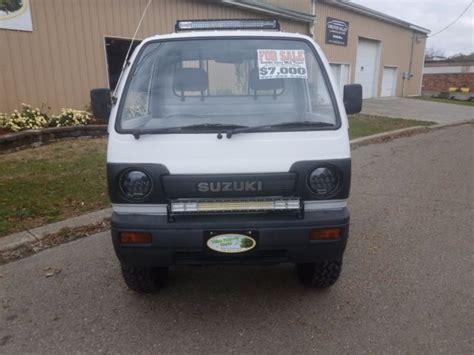 Suzuki Mini Truck Specs by 1990 Suzuki Carry 4x4 Mini Truck Japanese Kei Truck For