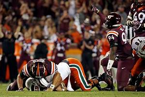 Miami Hurricanes a Complete Mess, Fall 37-13 at VaTech