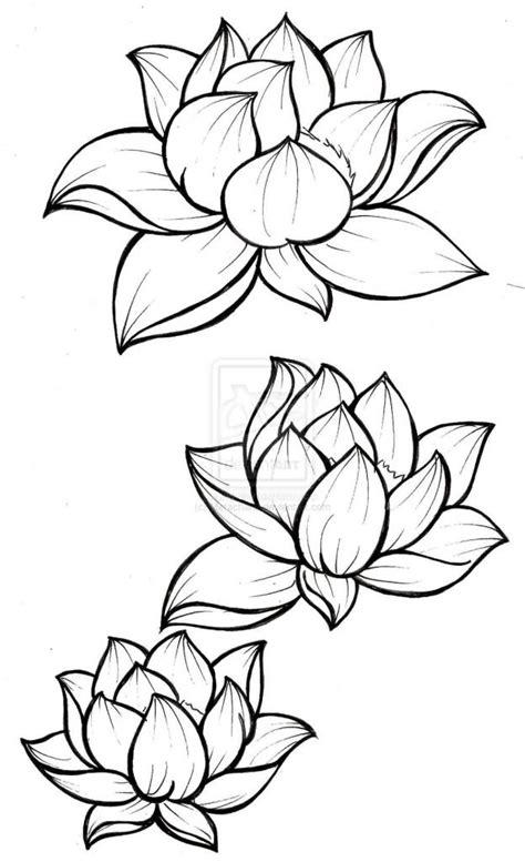 lotus tattoos stencils golfiancom