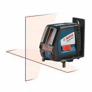 Bosch Self-Leveling Long-Range Cross-Line Laser Level-GLL