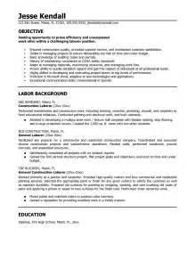 resume for handyman construction construction resume templates