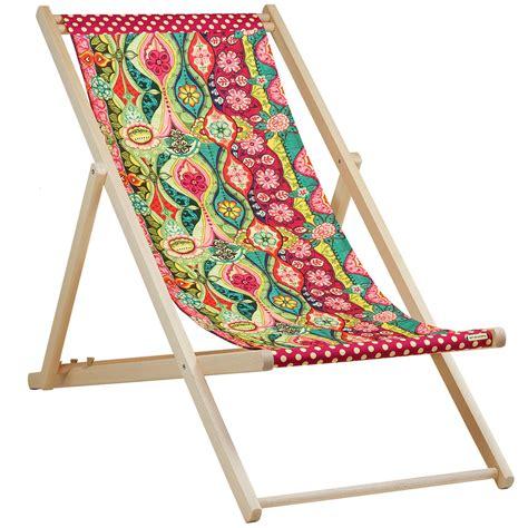 toile chaise longue chaise longue en bois et toile chaise suspendre en toile