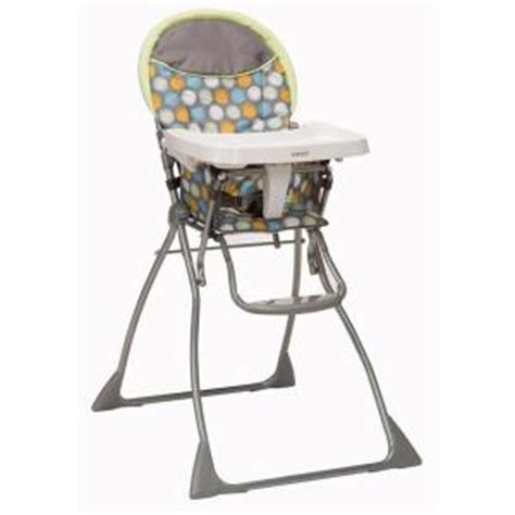 cosco high chair seat pad safety 1st cosco slim fold high chair ikat dots hc183cdd