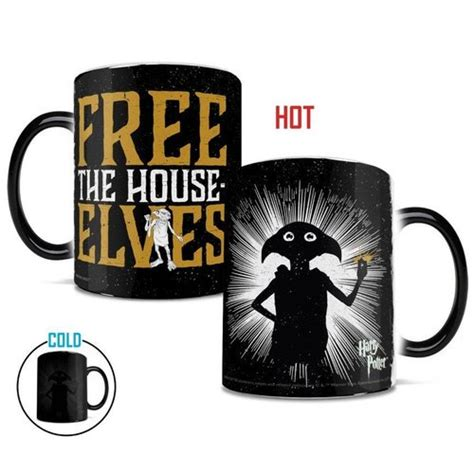 Shop for reusable ceramic coffee mugs and teacups with modern designs, fun shapes and sayings, as well as spillproof stainless steel and insulated travel mugs. Morphing Mugs Harry Potter Dobby Free the House Elves ...