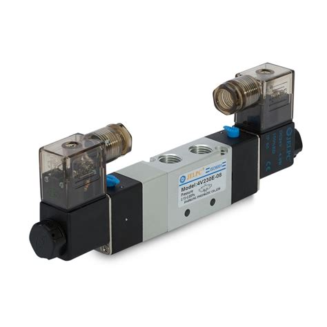 4v230 53 Double Solenoid Valve In Line And Manifold