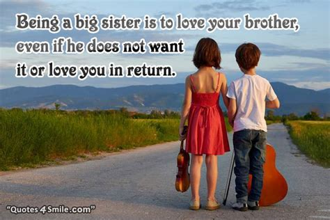 Older Sister Quotes To Younger Brother Image Quotes At