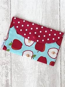 Pochette En Tissu : pochette en tissu enfant apples creacoton ~ Farleysfitness.com Idées de Décoration