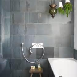 Bathroom Slate Tile Ideas Bathroom With Slate Tiles Room Designs Housetohome Co Uk