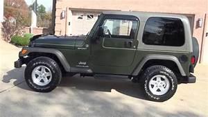 Hd Video 2006 Jeep Wrangler Sport 4x4 Foe Sale See