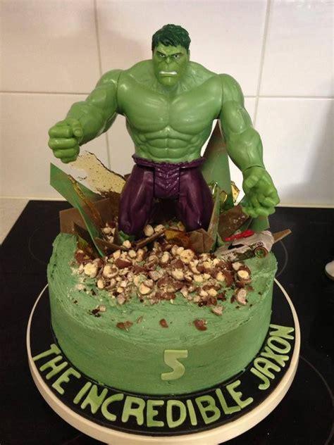 hulk smash cake cake ideas  designs