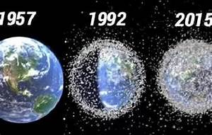 Space Junk Orbiting Earth are at Alarming Levels