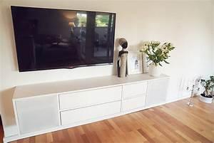Tv Lowboard Ikea : ikea hack mosslanda bilderleiste mit indirektem licht ~ A.2002-acura-tl-radio.info Haus und Dekorationen