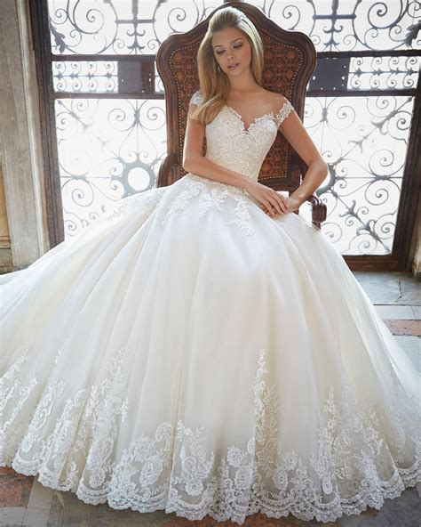 buy bridal gown ball gown lace princess