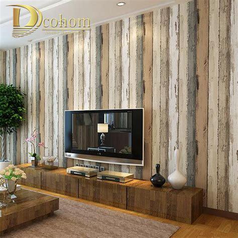 Erstaunliche Inspiration Tapeten Holzoptik Wohnzimmer Und