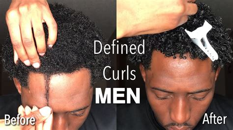 How to: Define Curls for MEN Tight Coily Type 4 Hair