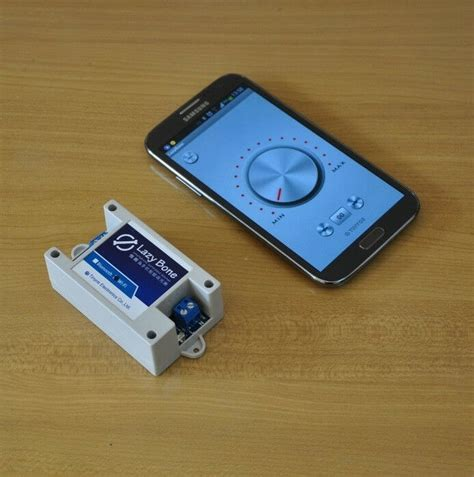 Smartphone Controlled Bluetooth Light Dimmer  Lazybone
