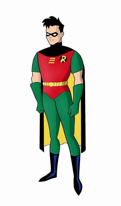 Robin Deviantart Batman Dawidarte Animated Series Dc