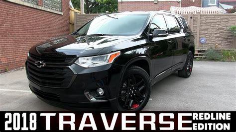 2018 Chevy Traverse Redline by All New 2018 Chevrolet Traverse Premiere Redline Edition