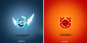9 Best Images of Cool Gaming Logos - Red Skull with ...