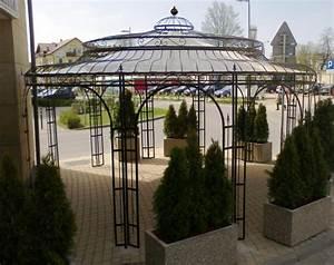 Pavillon Metall Wetterfest : gartenpavillon metall eckig ~ Whattoseeinmadrid.com Haus und Dekorationen