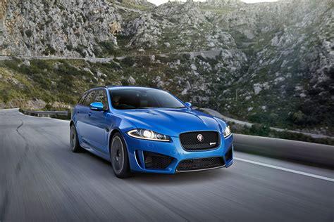 jaguar xfr  sportbrake top speed