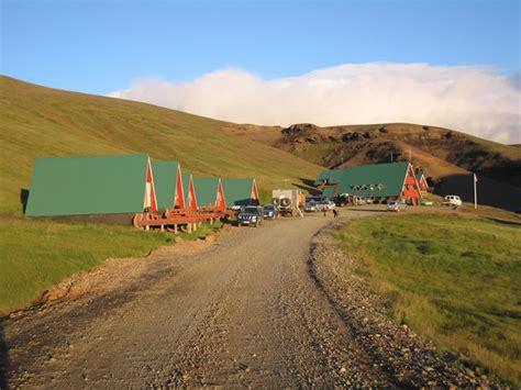 The cabins at Ásgarður, Kerlingarfjöll.