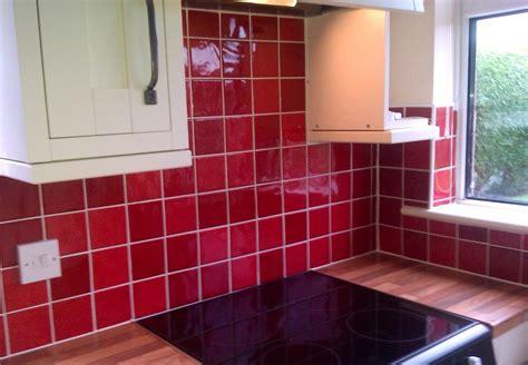 Colourful Kitchen Tiles