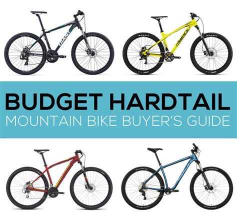 Buyer's Guide Budget Hardtail Mountain Bikes