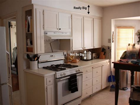 what to do with soffit above kitchen cabinets russet reno kitchen 2244