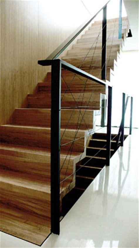 treppe stahl holz trepp