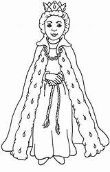 Queen Coloring Pages Esther Gown Drawing Printable Huangfei King Drawings Getdrawings Whitesbelfast Getcolorings Opulent sketch template