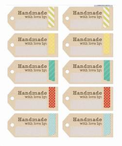 15 free label templates free sample example format With handmade for you labels