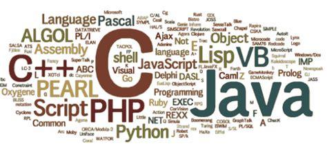 i cinque linguaggi di programmazione pi 249 usati cinque