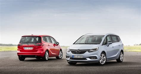 opel zafira 2017 opel zafira starts production in germany carscoops