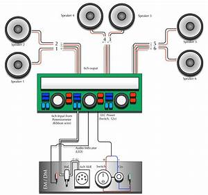 6 Speakers 4 Channel Amp Wiring Diagram Gallery