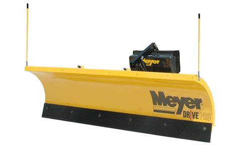 light duty truck plow meyer drive pro snow plow dejana truck utility equipment