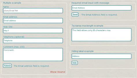 versatile html5 form verification plugin html5form