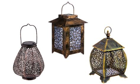 hanging solar lanterns groupon goods