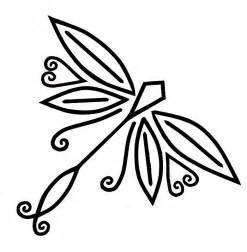 basic outlines of dragonflies dragonfly art images cliparts co