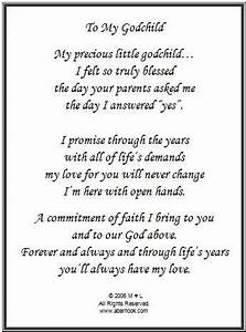 godmother to goddaughter poems godchild poem frame With letter to godson from godmother
