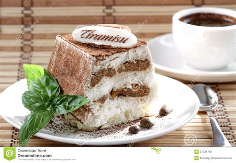 Л., шоколад горький — по вкусу, кофе эспрессо — 300 мл, марсала — 1 стакан, печенье савоярди — 200 г. Tiramisu And Coffee Stock Photo - Image: 21734760
