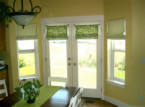 dressing a window ideas window treatments for french doors in living room home intuitive