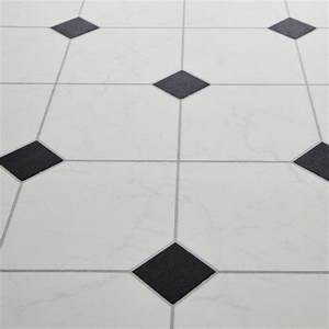 White vinyl flooring houses flooring picture ideas blogule for Black and white linoleum sheet flooring