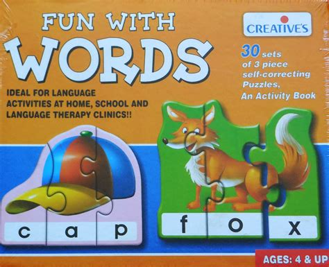 Fun With Words Literacy Game  Preschool Age  Learn Heaps