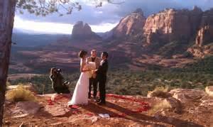 cheap outdoor wedding venues in az merry go rock archives of sedona weddings