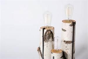 Lampen Aus Holz Selber Machen : fantastische birkenstamm deko ~ Michelbontemps.com Haus und Dekorationen