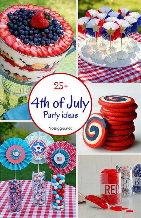 4th of july celebration ideas 25 4th of july party ideas nobiggie