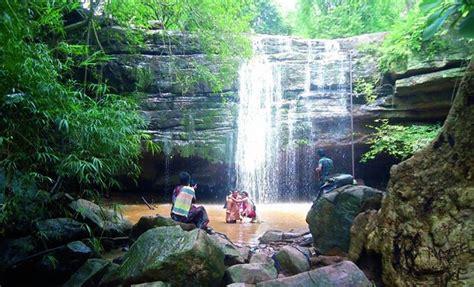 bheemuni paadam waterfalls telangana tourism travel