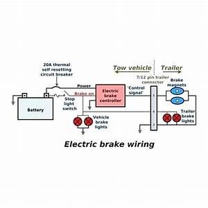 Trailer Axle Electric Brake Wiring Diagrams