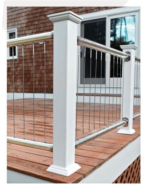 steel deck handrails metal deck railing ideas 468 pictures photos images